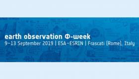 Join Us at ESA EO Phi-Week 2019