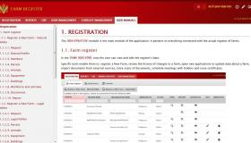 Farm register - user manual