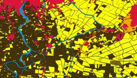 Land cover data from a cadastral database