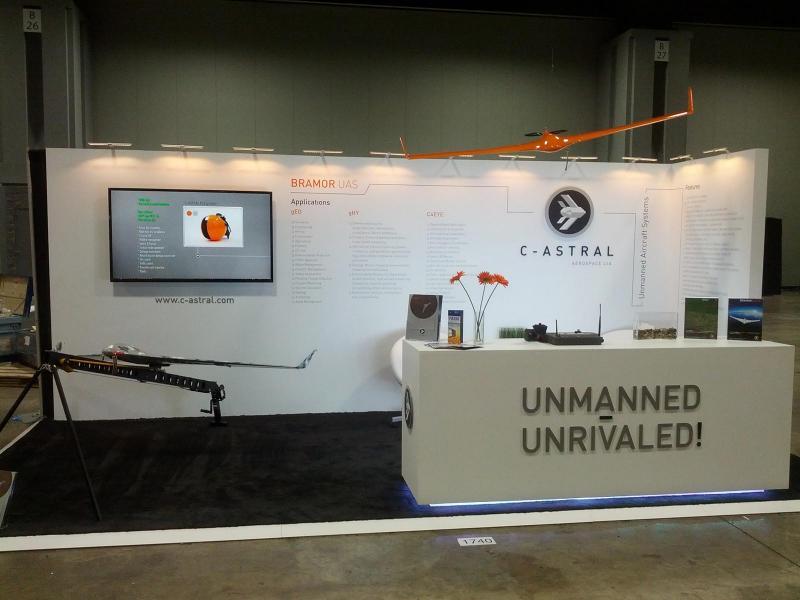 Predstavitev na konferenci AUVSI's Unmanned Systems