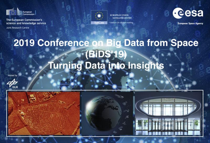 2019 Conference on Big Data from Space