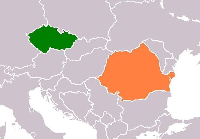 Podružnici na Češkem in v Romuniji
