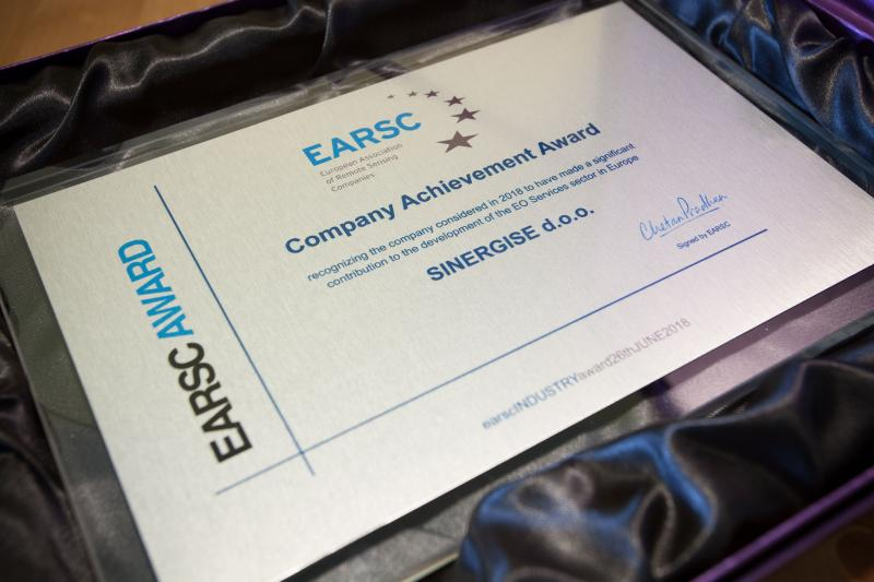 EARSC Company Achievement Award 2018