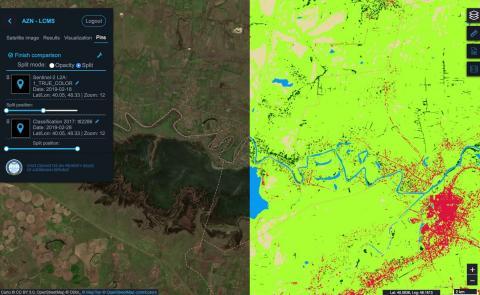 Azerbaijan Land Cover Monitoring System