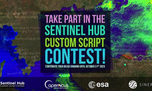 Take part in the third round of the Sentinel Hub Custom Script Contest!